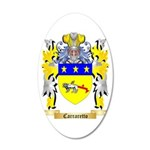Carraretto 35x21 Oval Wall Decal