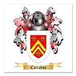 Carradus Square Car Magnet 3