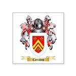 Carradus Square Sticker 3