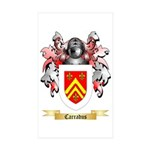 Carradus Sticker (Rectangle 10 pk)