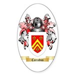 Carradus Sticker (Oval 50 pk)