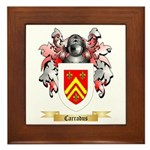 Carradus Framed Tile