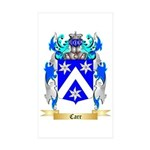 Carr Sticker (Rectangle 10 pk)