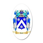 Carr 20x12 Oval Wall Decal