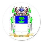 Carpio Round Car Magnet