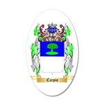Carpio 35x21 Oval Wall Decal