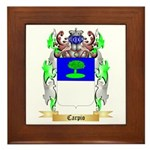 Carpio Framed Tile