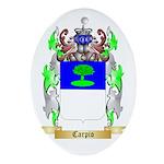 Carpio Ornament (Oval)