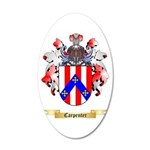 Carpenter 20x12 Oval Wall Decal