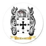Carotti Round Car Magnet