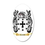 Carotti 35x21 Oval Wall Decal
