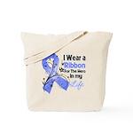 Ribbon Hero Stomach Cancer Tote Bag