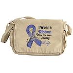 Ribbon Hero Stomach Cancer Messenger Bag