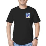 Caroon Men's Fitted T-Shirt (dark)
