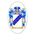 Caroon Sticker (Oval 50 pk)