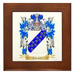 Caroon Framed Tile