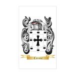 Carone Sticker (Rectangle)
