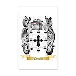 Carollo Rectangle Car Magnet