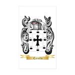 Carollo Sticker (Rectangle 50 pk)