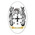 Carollo Sticker (Oval 50 pk)