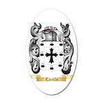 Carollo 35x21 Oval Wall Decal