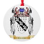 Carolan Round Ornament