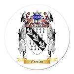 Carolan Round Car Magnet