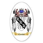 Carolan Sticker (Oval)