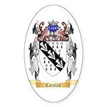 Carolan Sticker (Oval 10 pk)