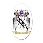 Carolan 20x12 Oval Wall Decal