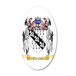 Carolan 35x21 Oval Wall Decal