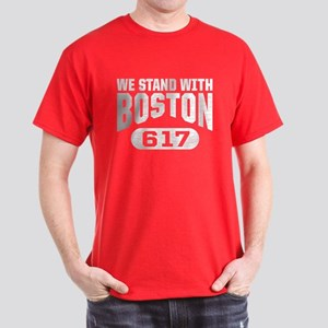We Stand With Boston T-Shirt