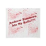 Ate My Balls?!?! Throw Blanket