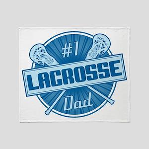 # Lacrosse Dad Throw Blanket