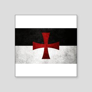 Templar Flag Sticker