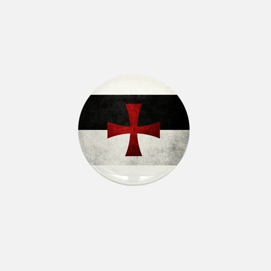 Templar Flag Mini Button