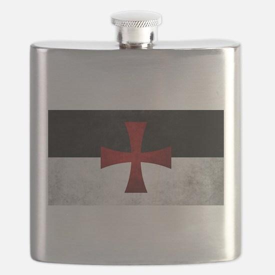 Templar Flag Flask
