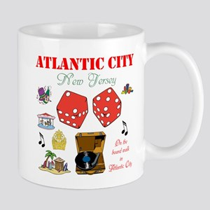 ON THE ATLANTIC CITY BOARDWALK. Mug