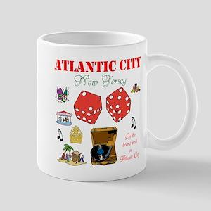 ON THE ATLANTIC CITY BOARDWALK. Mug