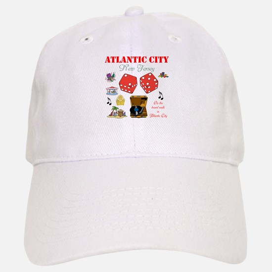 ON THE ATLANTIC CITY BOARDWALK. Baseball Baseball Cap