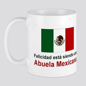 Happy Mexican Grandmother(Abuela) Mug