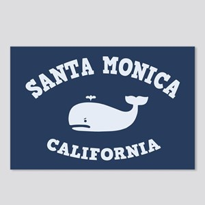 Santa Monica Whaling Postcards (Package of 8)