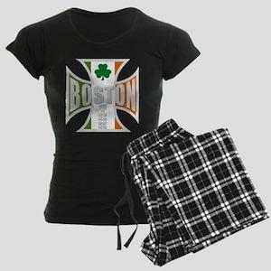 Irish Boston Pride Women's Dark Pajamas