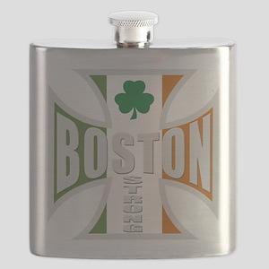 Irish Boston Pride Flask