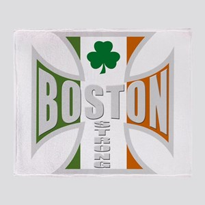 Irish Boston Pride Throw Blanket