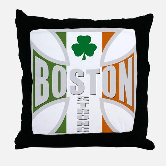 Irish Boston Pride Throw Pillow