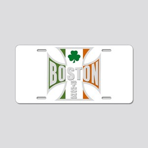 Irish Boston Pride Aluminum License Plate