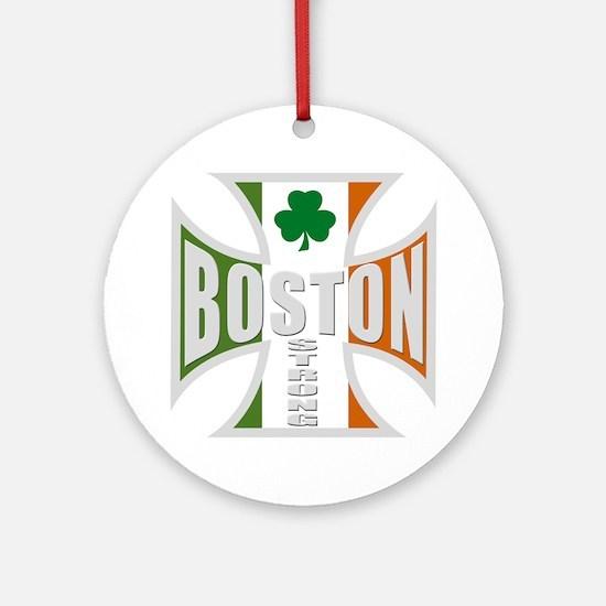 Irish Boston Pride Ornament (Round)