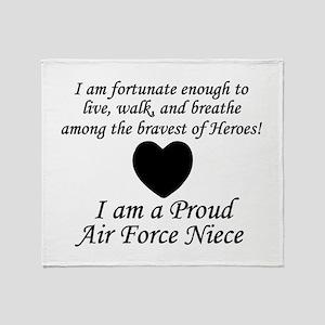 AF Niece Fortunate Throw Blanket