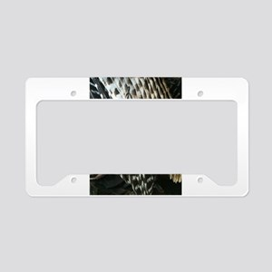 Turkey Feathers License Plate Holder